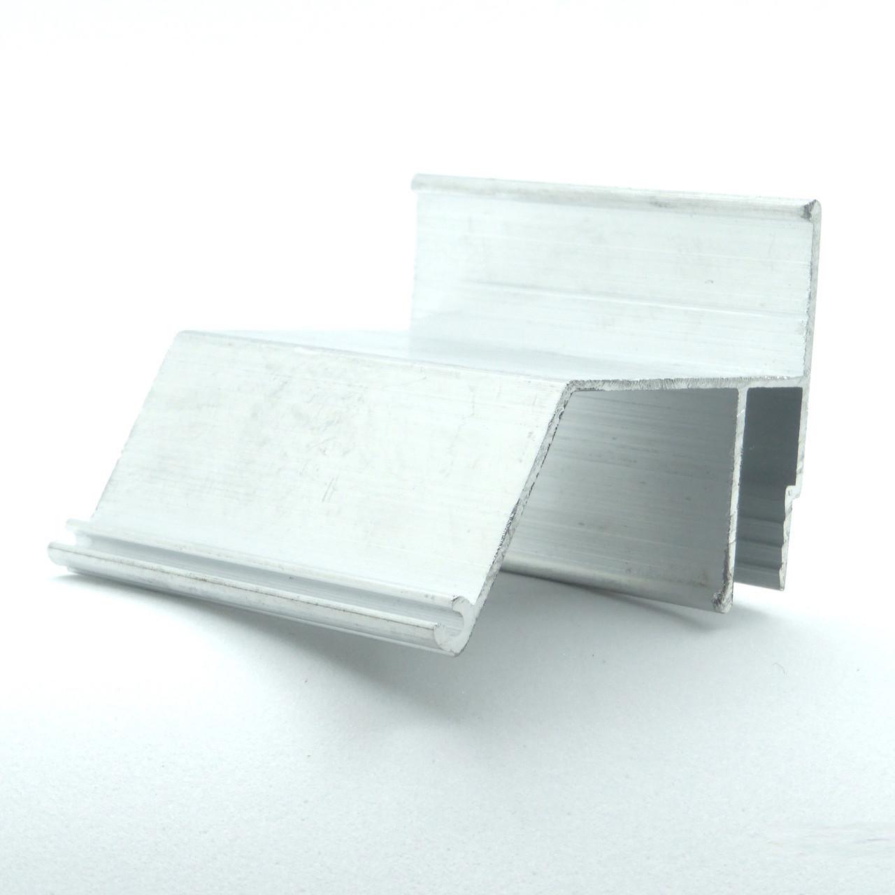 Профиль алюминиевый для натяжных потолков - парящий контур, с подсветкой. Длина профиля 2 м.