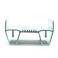 Профиль алюминиевый для натяжных потолков - парящая линия. Длина профиля 2,5 м., фото 1