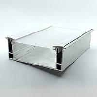 Профиль алюминиевый - парящая линия, с линзой, со вставкой. Длина профиля 2 м., фото 1