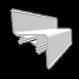 Профиль алюминиевый для натяжных потолков - парящий, со вставкой №1. Длина профиля 2 м., фото 3