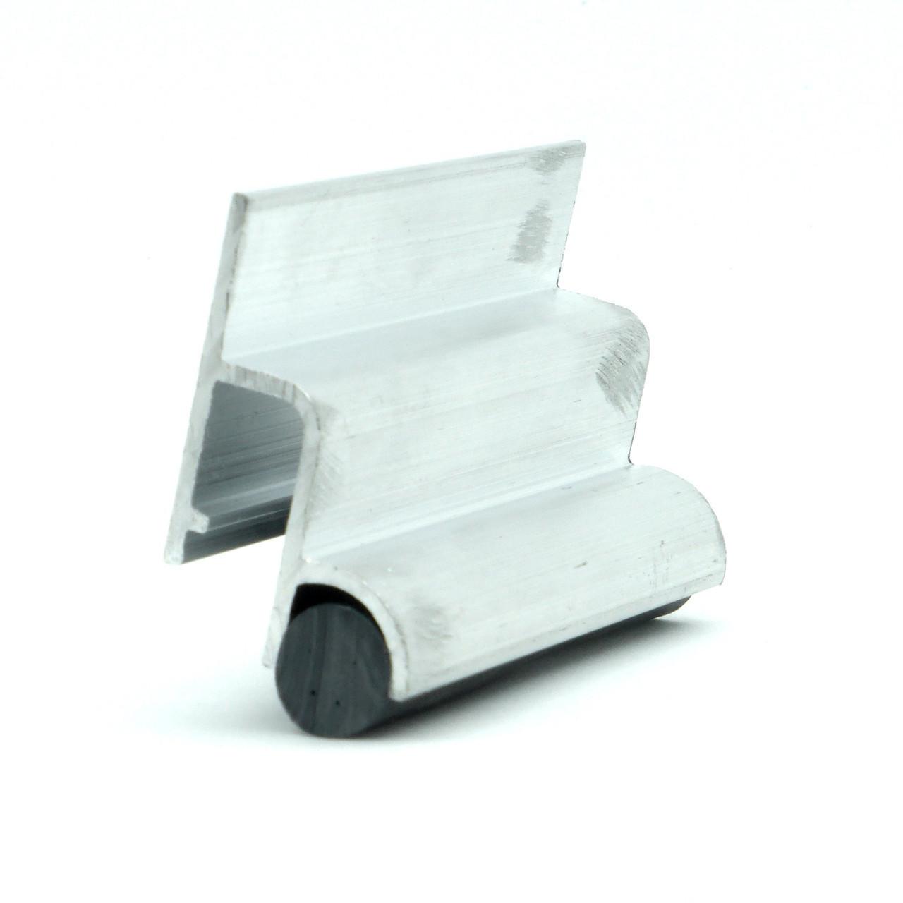 Профиль алюминиевый для натяжных потолков - бесщелевой, система KRAAB 3.0. Длина профиля 2,5 м.