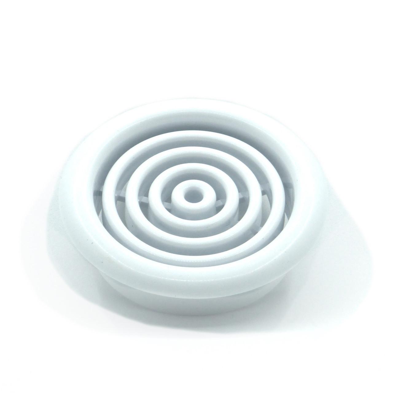 Круглая вентиляционная решетка для натяжных потолков - 45 мм, для потолочной вентиляции