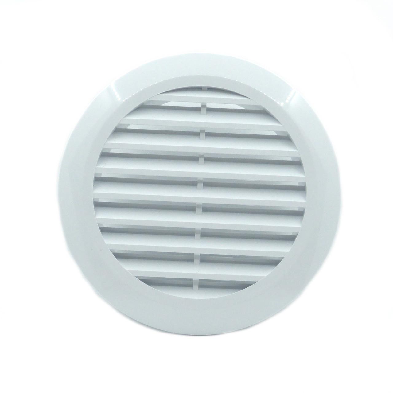 Круглая вентиляционная решетка для натяжных потолков - 125 мм, для потолочной вентиляции