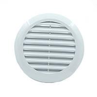 Круглая вентиляционная решетка для натяжных потолков - 125 мм, для потолочной вентиляции, фото 1