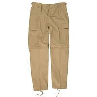 Штаны-шорты MilTec BDU ZIP-OFF Khaki 11510004, фото 1