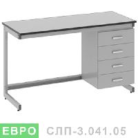 Стол лабораторный пристенный СЛП-3.041.05, фото 1