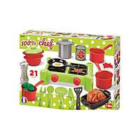 Игровой набор плита и посуда Ecoiffier 2649, фото 1