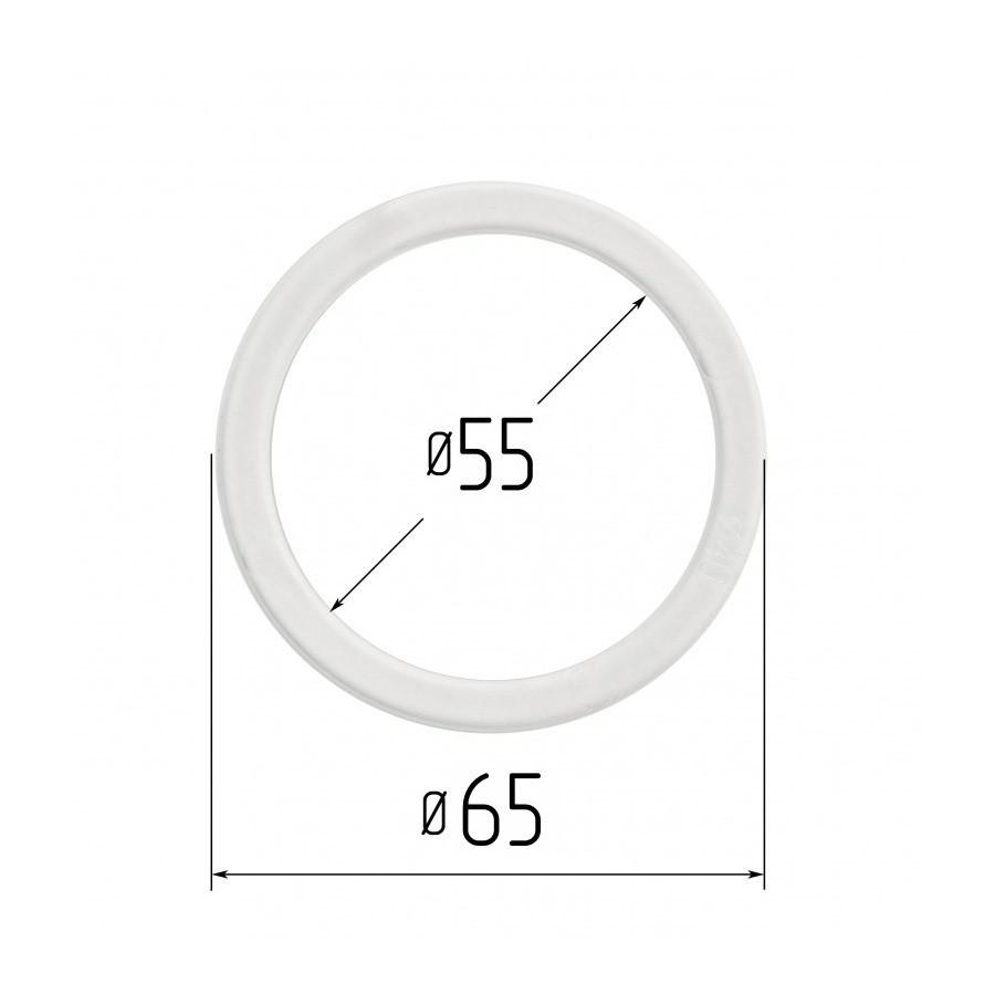 Протекторное термокольцо для натяжных потолков - диаметр 55 мм (наружный 65мм)