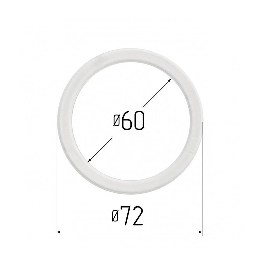 Протекторное термокольцо для натяжных потолков - диаметр 60 мм (наружный 71,6мм)