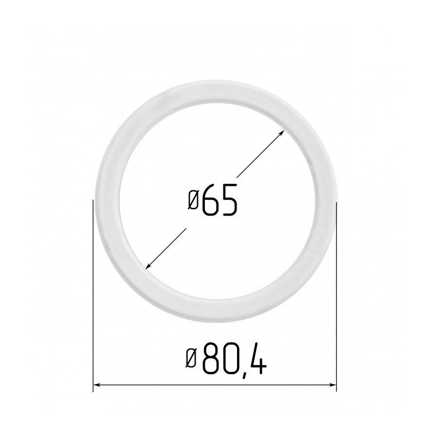Протекторное термокольцо для натяжных потолков - диаметр 65 мм (наружный 80,4мм)