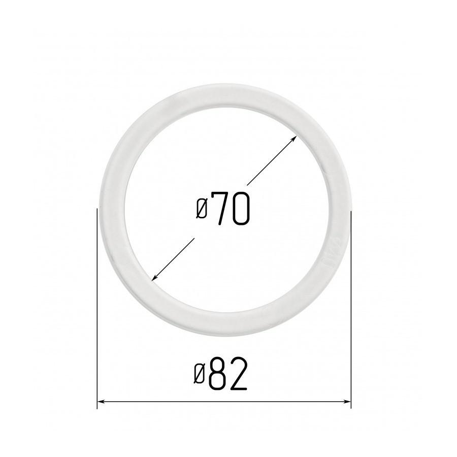 Протекторное термокольцо для натяжных потолков - диаметр 70 мм (наружный 81,8мм)