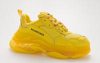 Женские кроссовки Balenciaga Triple S Clear Sole Yellow