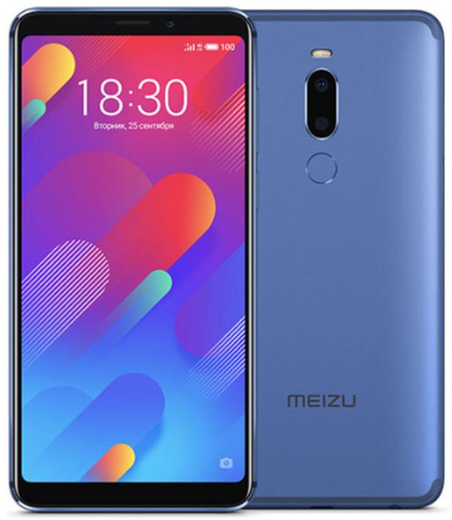 """Meizu M8 Blue 4/64 Gb, 5.7"""", Helio P22, 3G, 4G (Global)"""