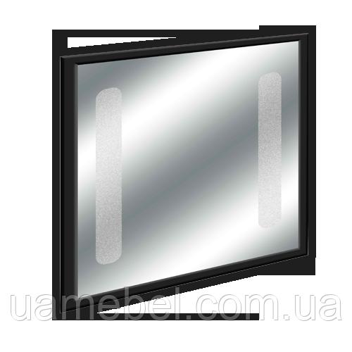 Зеркало для ванной LED02 Черное