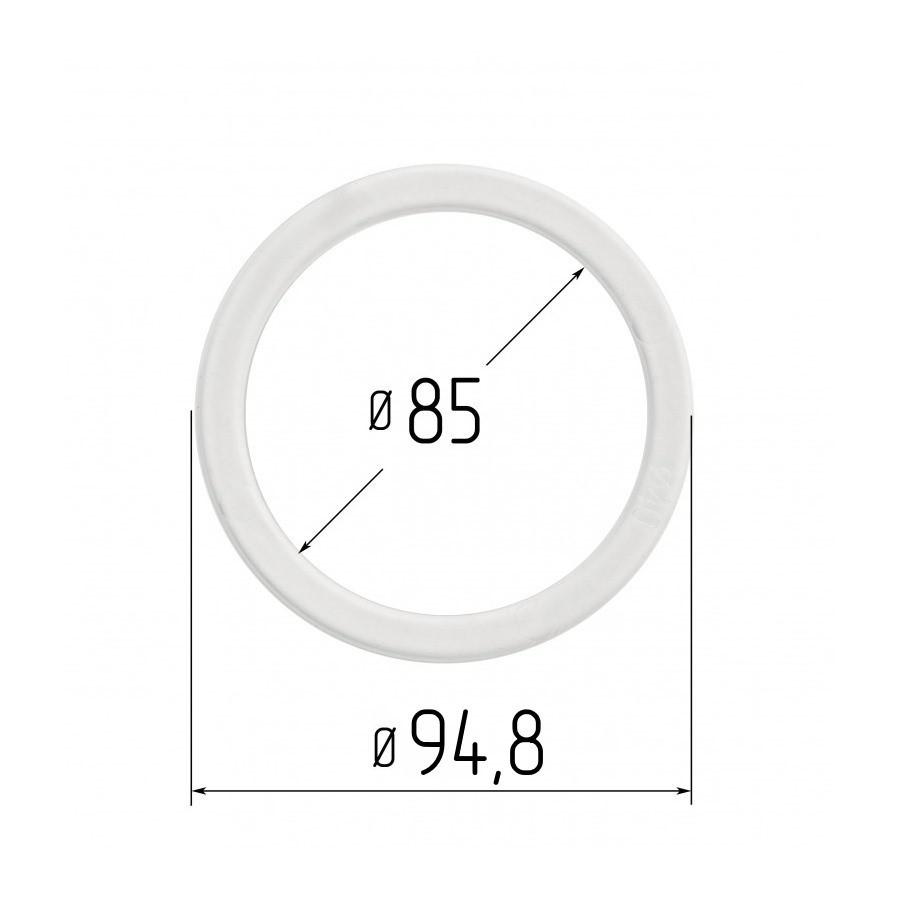 Протекторное термокольцо для натяжных потолков - диаметр 85 мм (наружный 94,8мм)