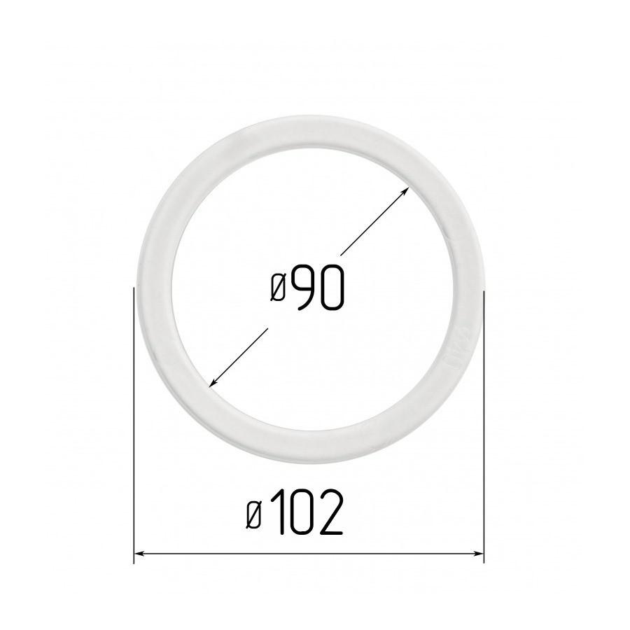Протекторное термокольцо для натяжных потолков - диаметр 90 мм (наружный 102мм)
