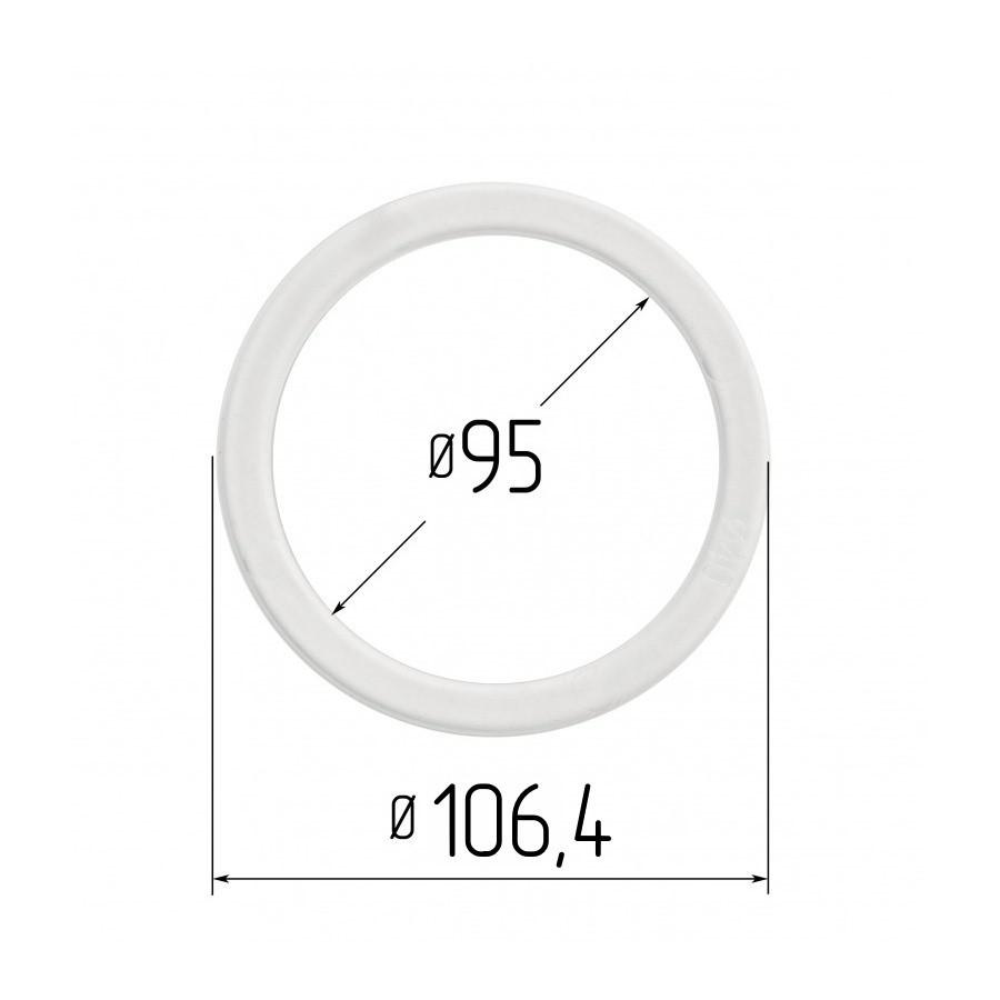 Протекторное термокольцо для натяжных потолков - диаметр 95 мм (наружный 106,4мм)