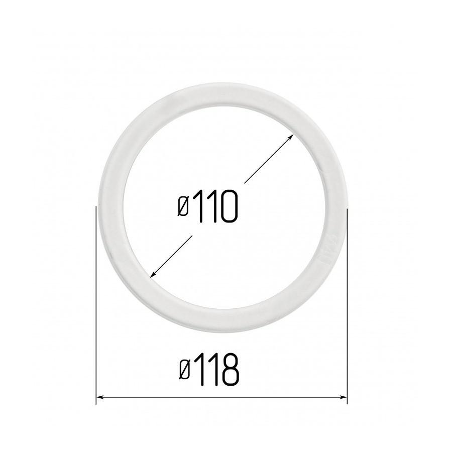 Протекторное термокольцо для натяжных потолков - диаметр 110 мм (наружный 118мм)