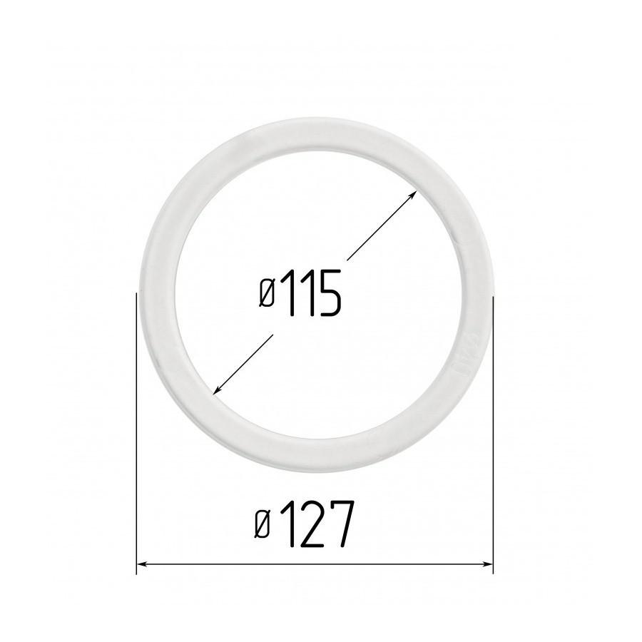 Протекторное термокольцо для натяжных потолков - диаметр 115 мм (наружный 127мм)