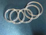 Протекторное термокольцо для натяжных потолков - диаметр 115 мм (наружный 127мм), фото 5