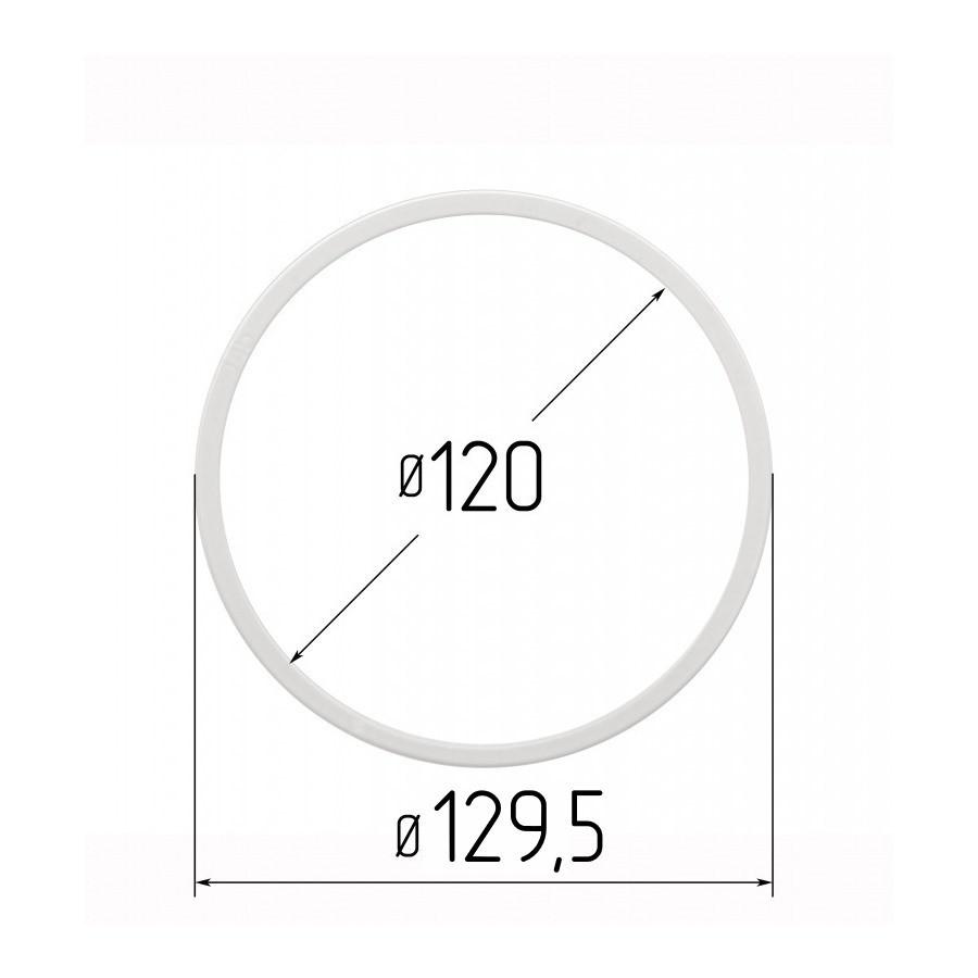 Протекторное термокольцо для натяжных потолков - диаметр 120мм (наружный 129,5мм)