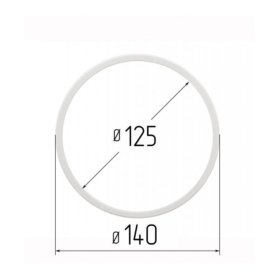 Протекторна термокільце для натяжних стель - діаметр 125 мм (зовнішній 140мм)