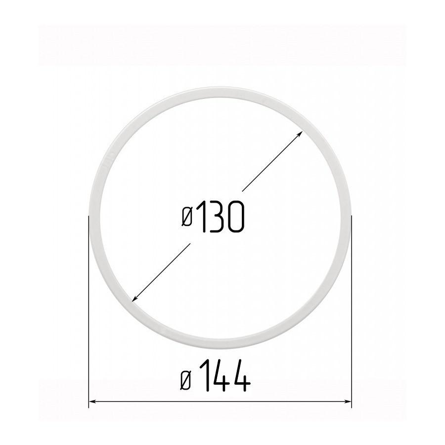Протекторное термокольцо для натяжных потолков - диаметр 130 мм (наружный 144мм)