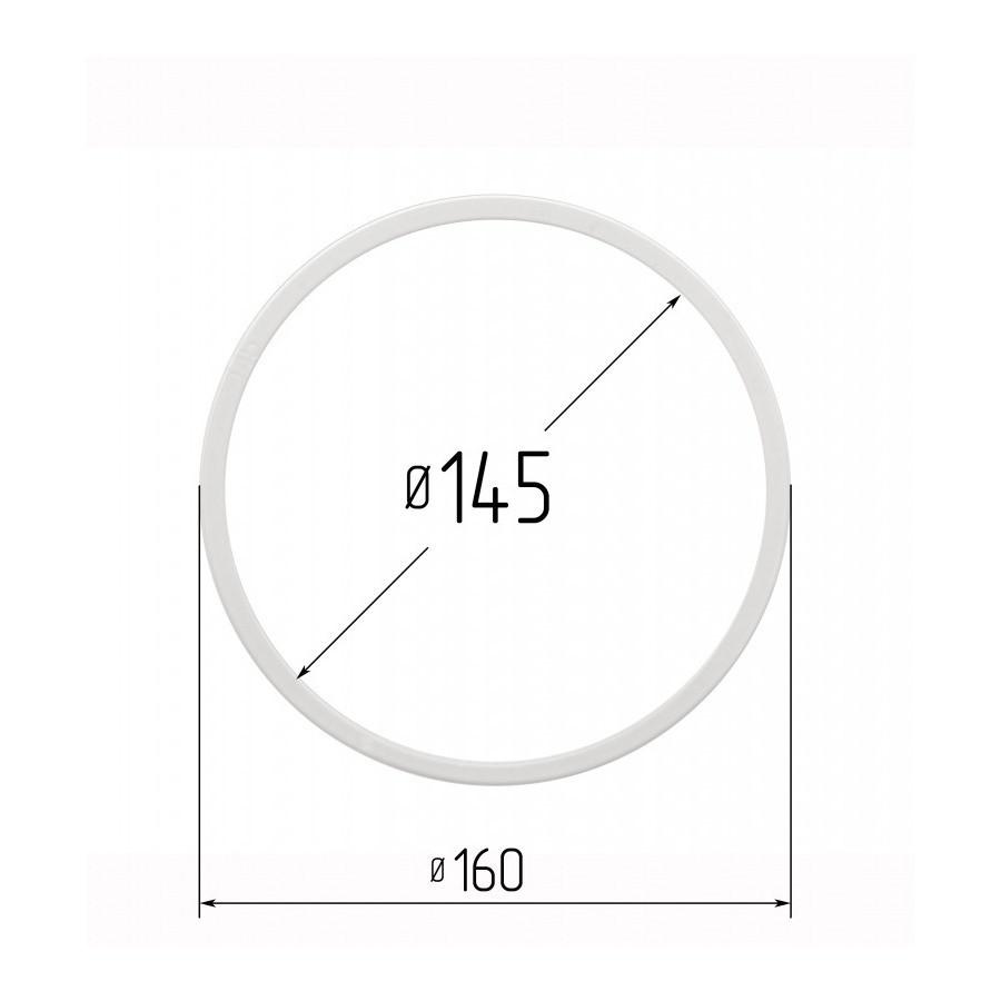 Протекторное термокольцо для натяжных потолков - диаметр 145 мм (наружный 159,2мм)