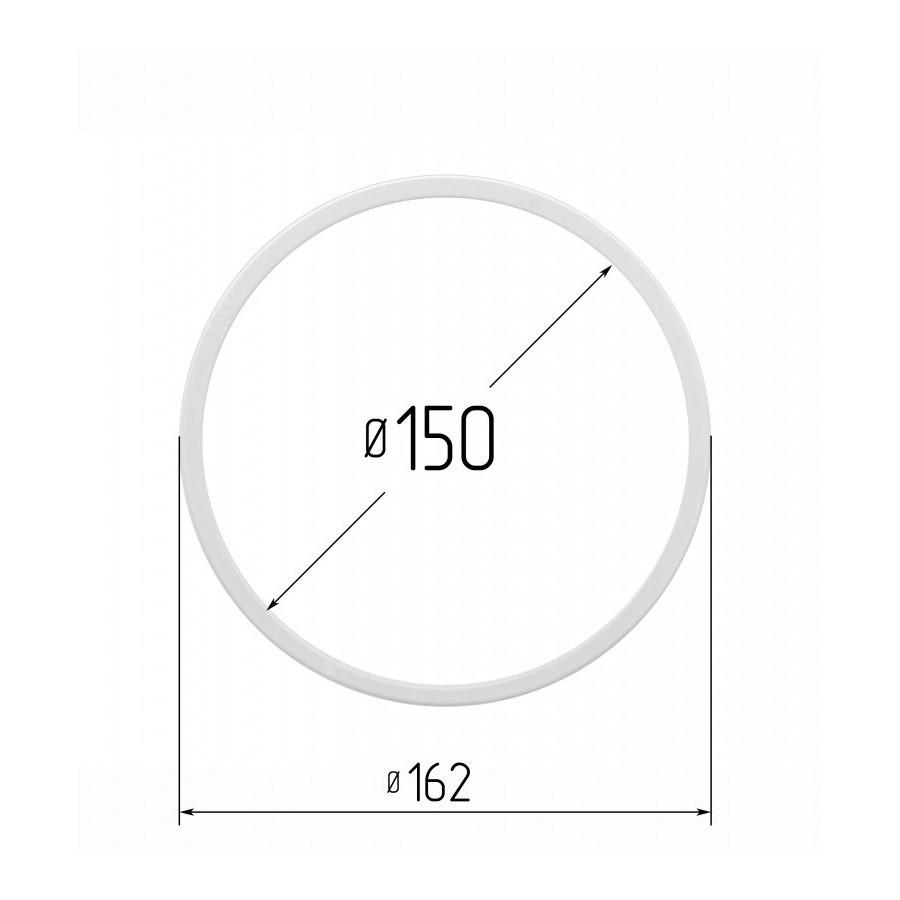 Протекторна термокільце для натяжних стель - діаметр 150 мм (зовнішній 162,2 мм)