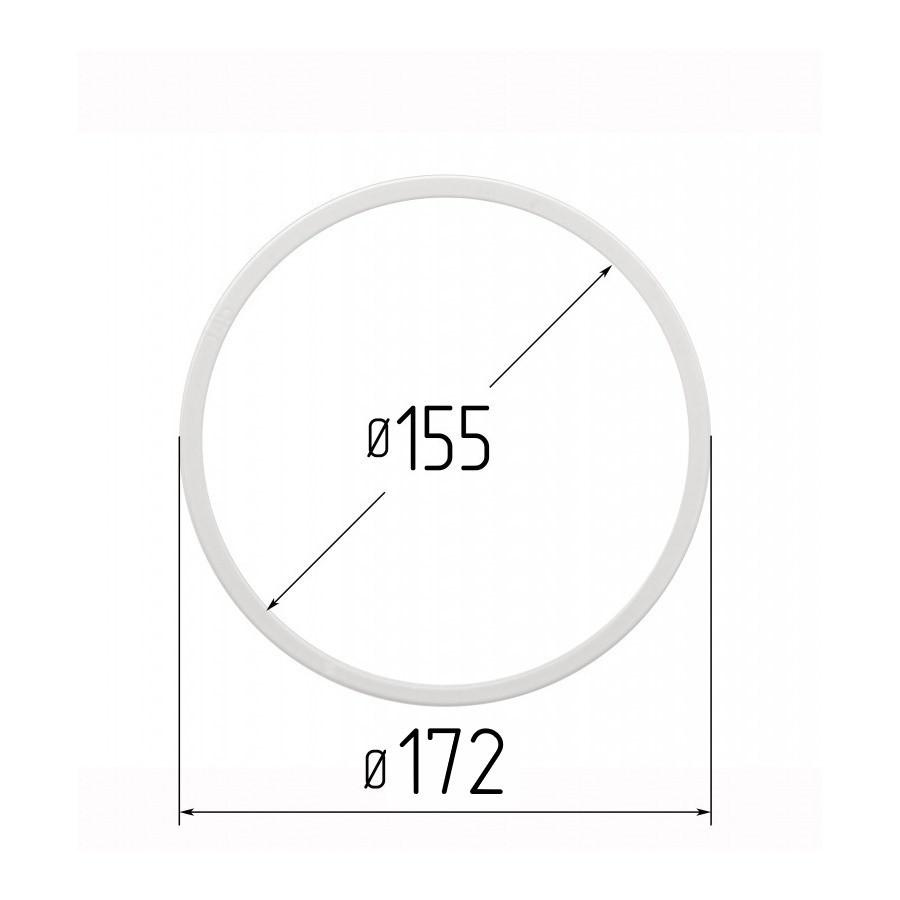 Протекторное термокольцо для натяжных потолков - диаметр 155 мм (наружный 172мм)