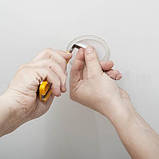 Протекторное термокольцо для натяжных потолков - диаметр 155 мм (наружный 172мм), фото 3