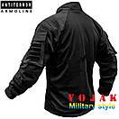 Рубашка UBACS тактическая (ANTITERROR) Black , фото 3