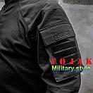Рубашка UBACS тактическая (ANTITERROR) Black , фото 4