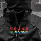 Рубашка UBACS тактическая (ANTITERROR) Black , фото 5