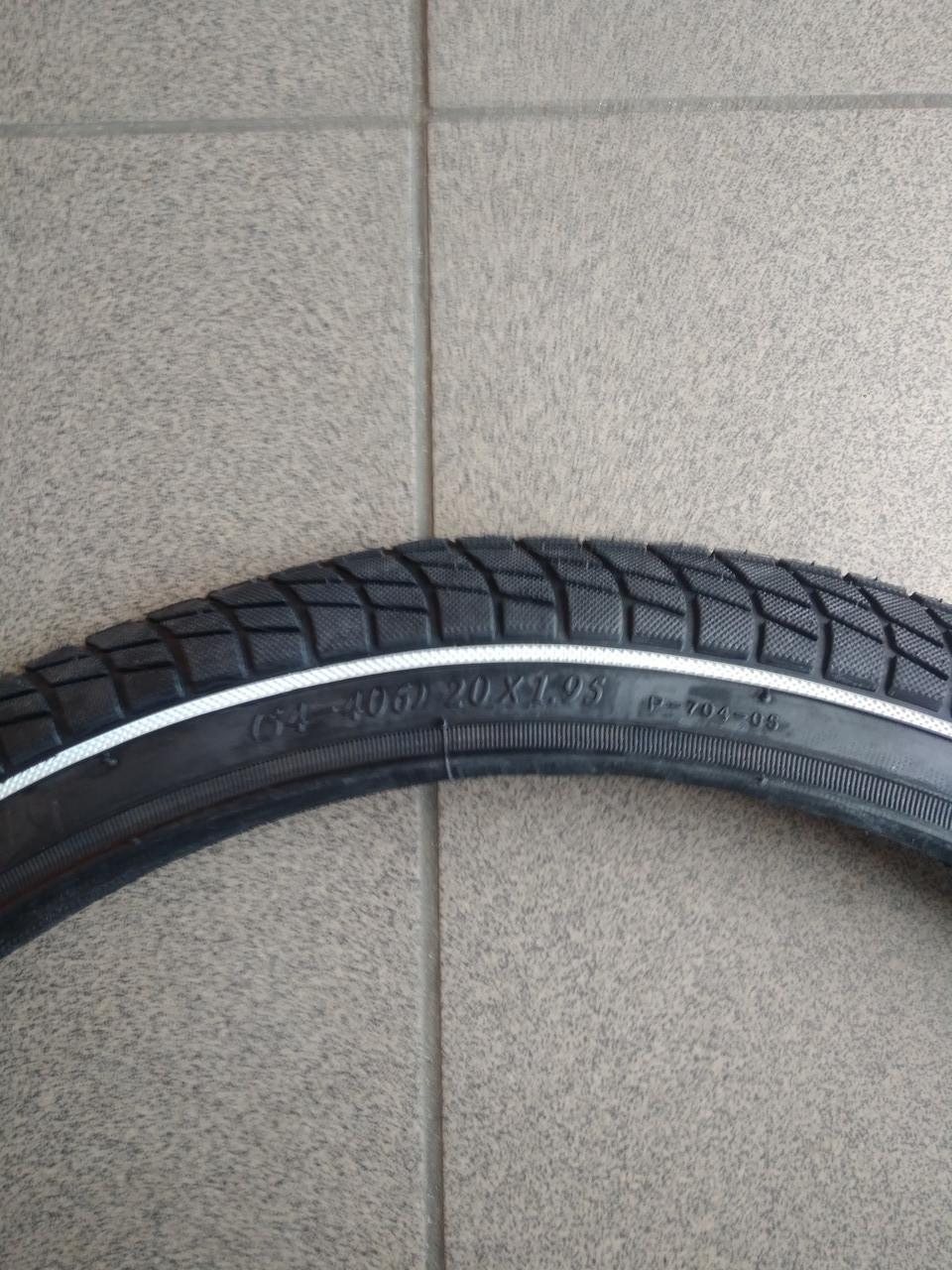 Покрышка велосипедная PONELY 18*1,95