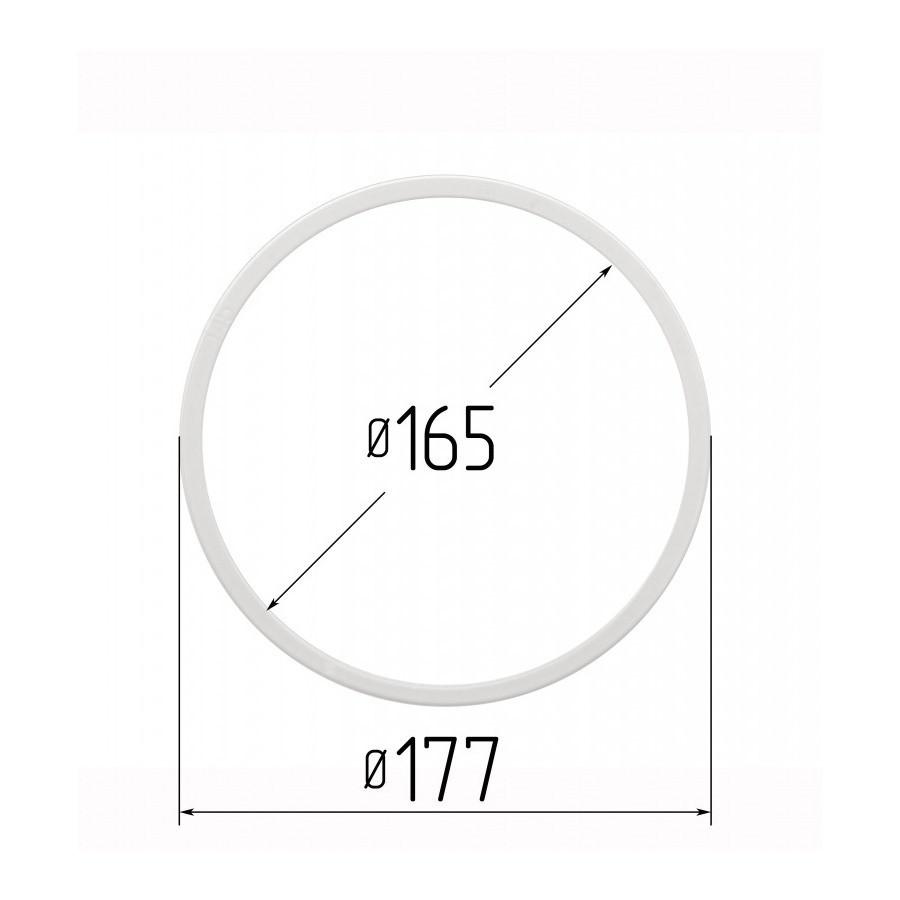 Протекторное термокольцо для натяжных потолков - диаметр 165 мм (наружный 177,4мм)