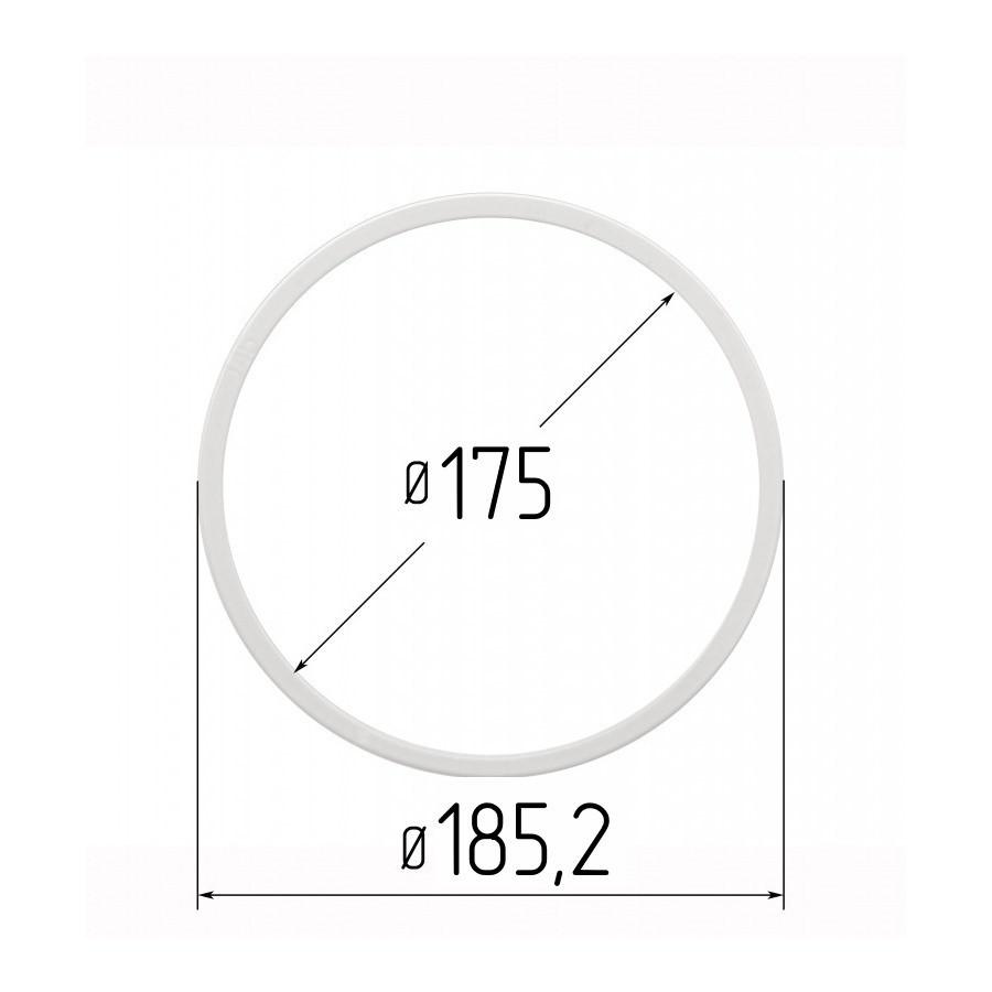Протекторное термокольцо для натяжных потолков - диаметр 175 мм (наружный 185,2мм)
