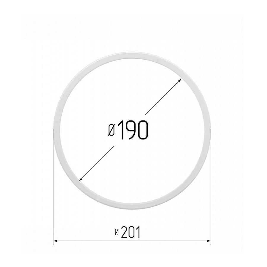 Протекторна термокільце для натяжних стель - діаметр 190 мм (зовнішній 201,4 мм)