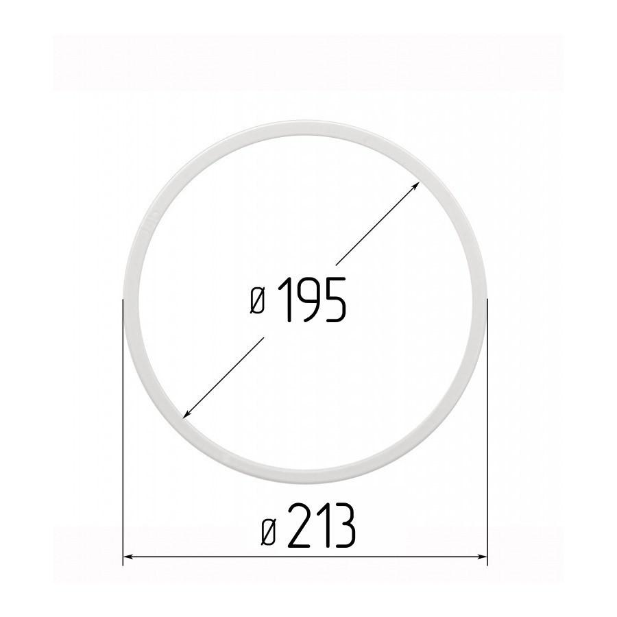 Протекторное термокольцо для натяжных потолков - диаметр 195 мм (наружный 213мм)