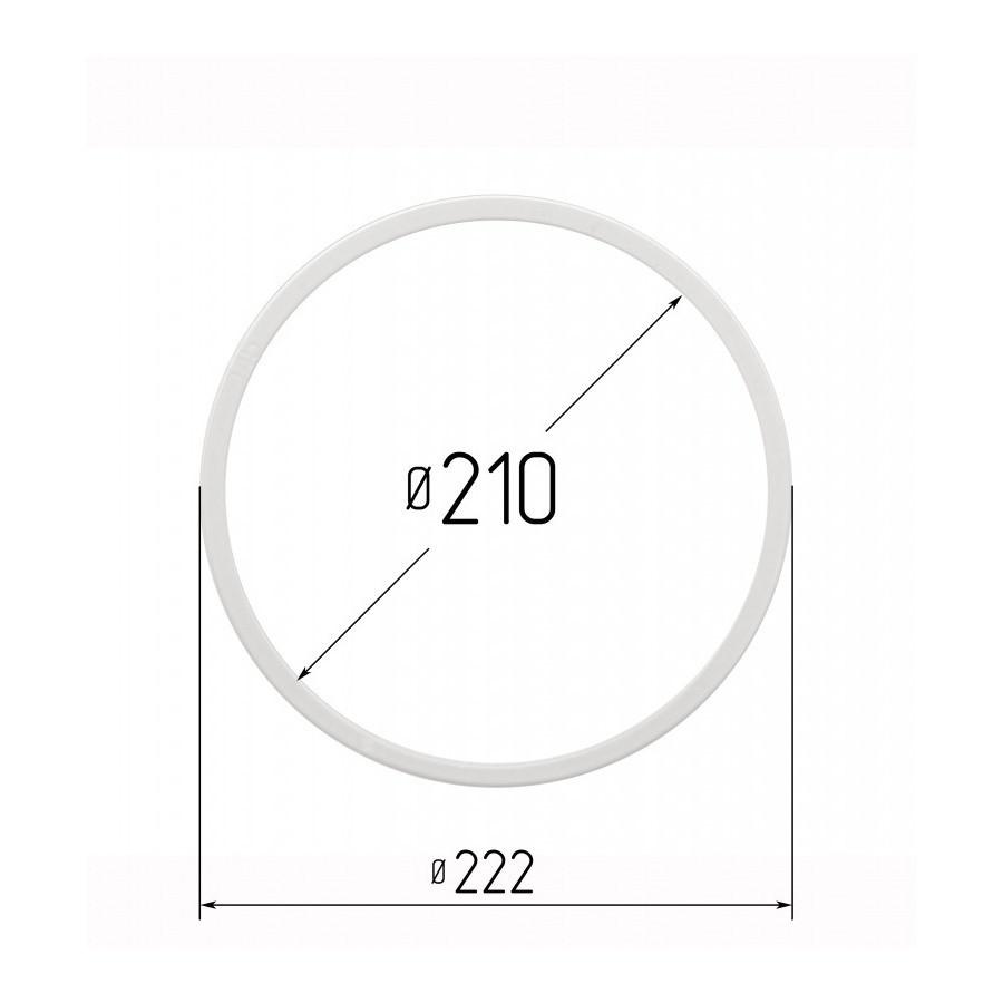 Протекторное термокольцо для натяжных потолков - диаметр 210 мм (наружный 222мм)