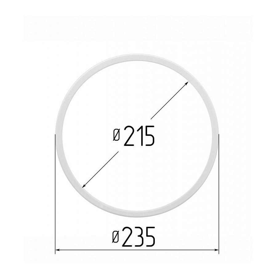 Протекторна термокільце для натяжних стель - діаметр 215 мм (зовнішній 235мм)
