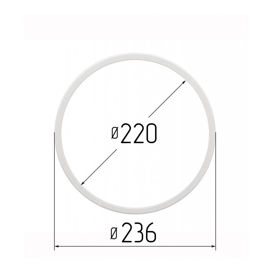 Протекторна термокільце для натяжних стель - діаметр 220 мм (зовнішній 236мм)
