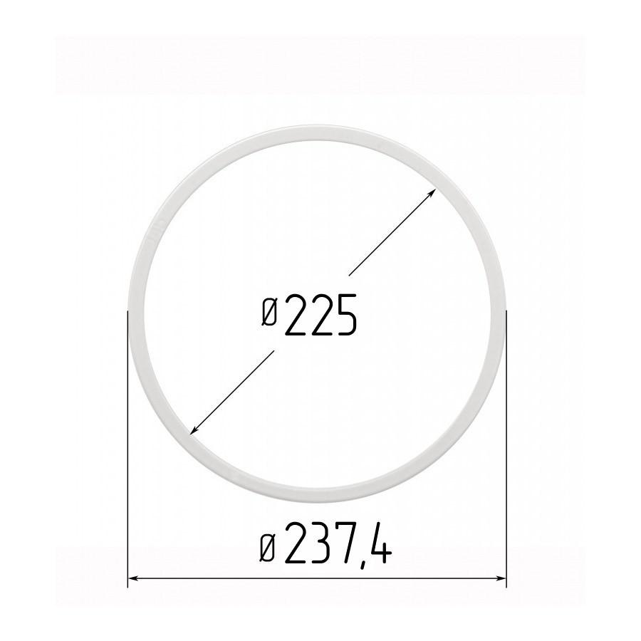 Протекторна термокільце для натяжних стель - діаметр 225 мм (зовнішній 237,4 мм)