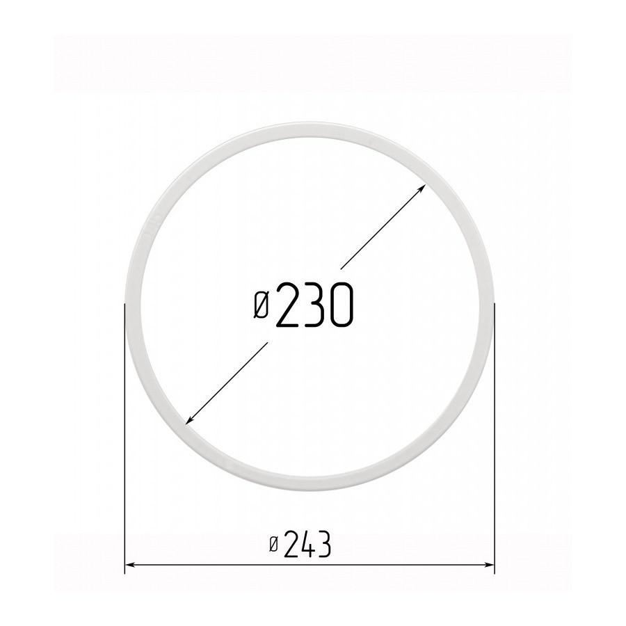 Протекторное термокольцо для натяжных потолков - диаметр 230 мм (наружный 242,4мм)
