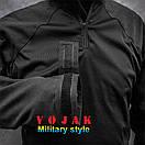 Рубашка UBACS тактическая (ANTITERROR) Black , фото 6