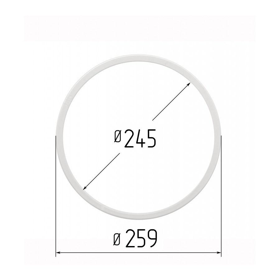 Протекторное термокольцо диаметр 245 мм (наружный 259мм)