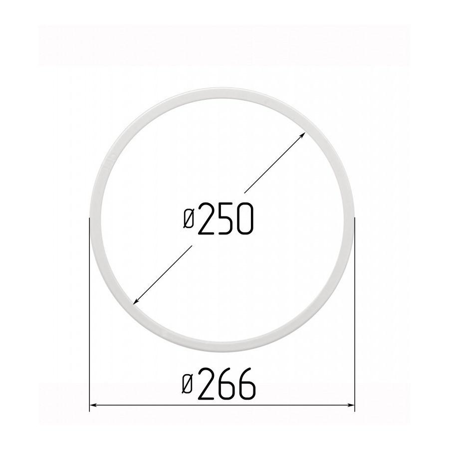Протекторное термокольцо для натяжных потолков - диаметр 250 мм (наружный 266,2мм)