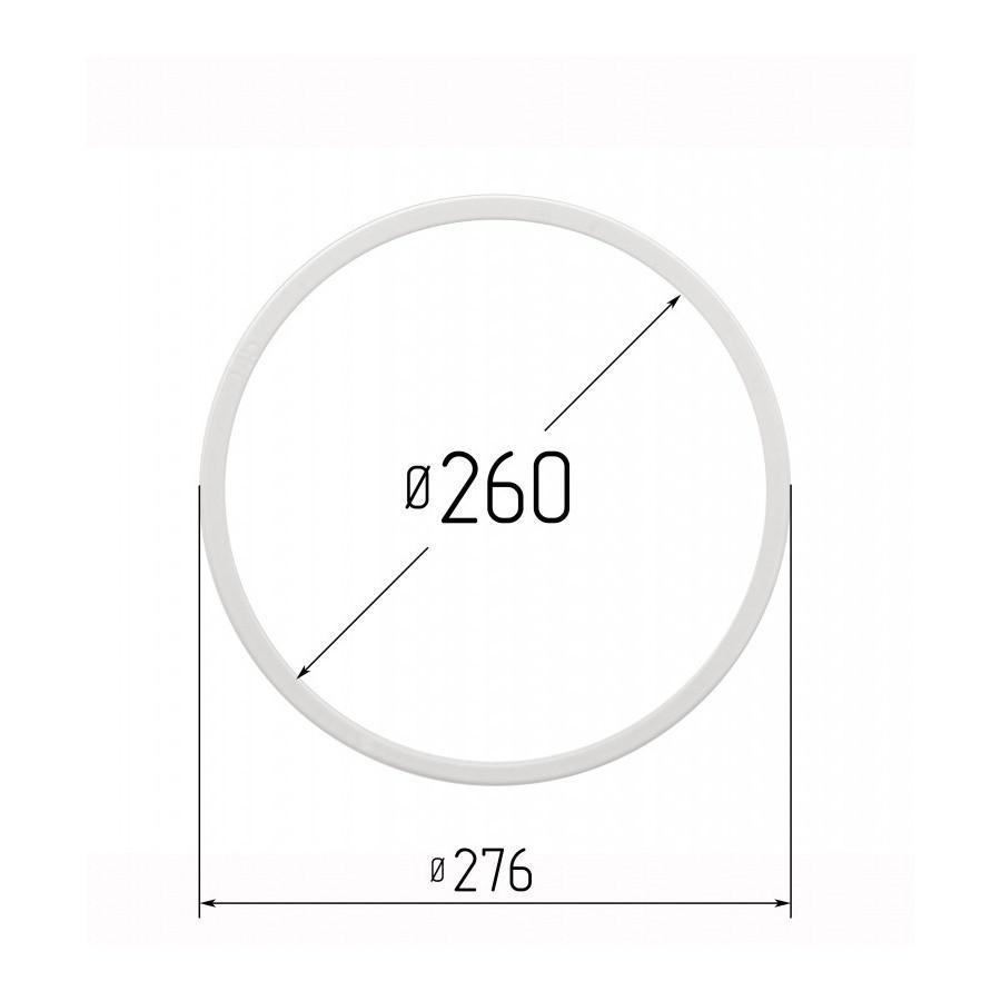 Протекторное термокольцо для натяжных потолков - диаметр 260 мм (наружный 276мм)