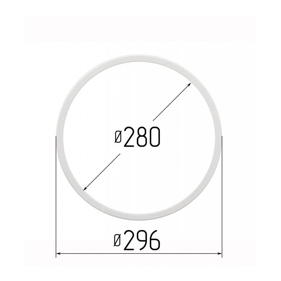 Протекторное термокольцо для натяжных потолков - диаметр 280 мм (наружный 296мм)