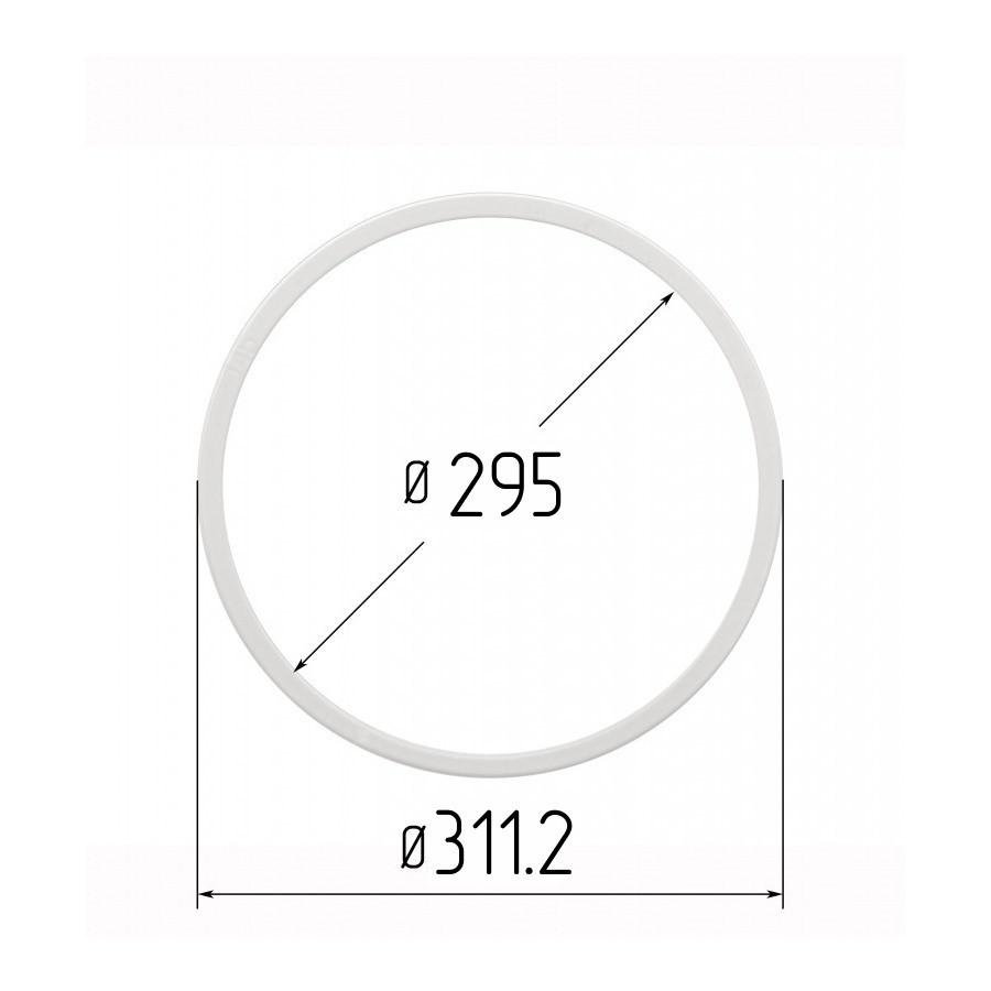 Протекторное термокольцо для натяжных потолков - диаметр 295 мм (наружный 311,2мм)